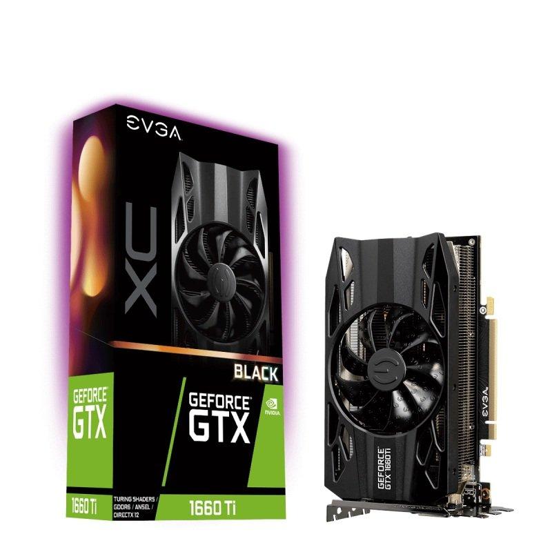 EVGA GeForce GTX 1660 Ti XC GAMING 6GB Graphics Card