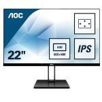 """AOC 22V2Q 21.5"""" Full HD IPS Monitor"""