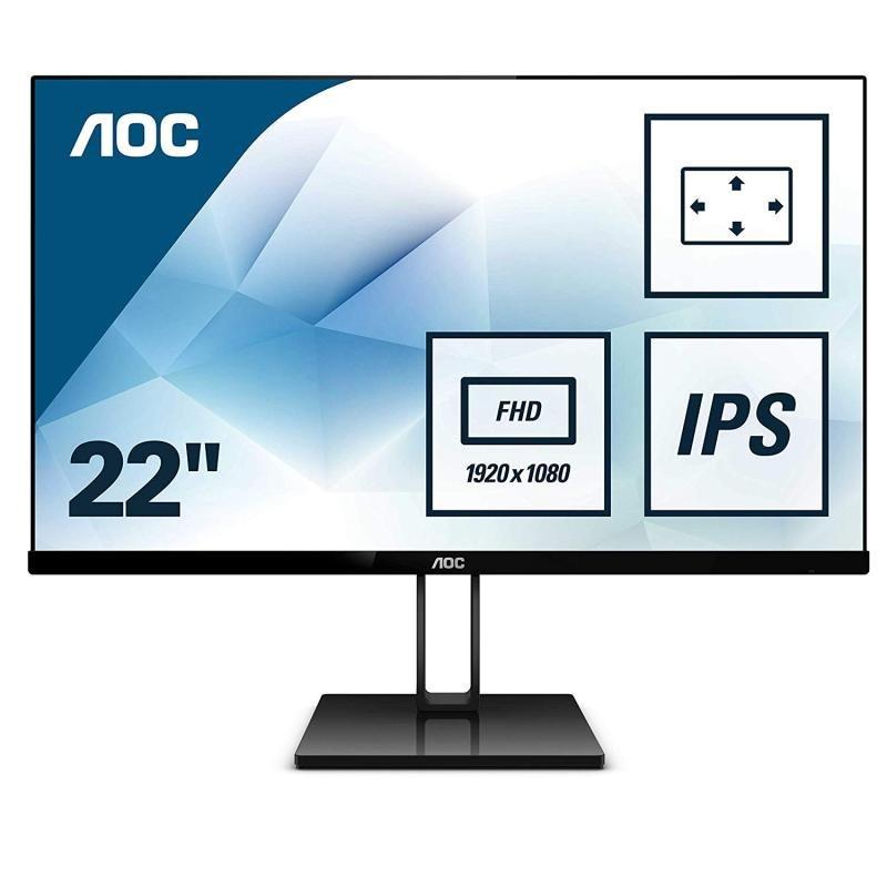"""Image of AOC 22V2Q 21.5"""" Full HD IPS Monitor"""