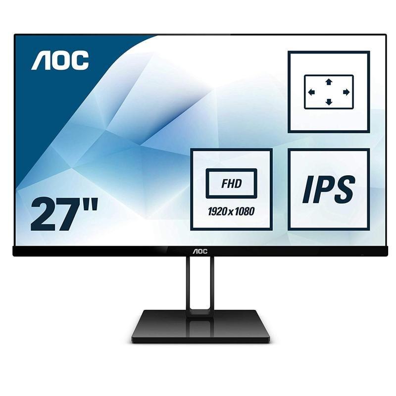 """AOC 27V2Q 27"""" Full HD IPS Monitor"""