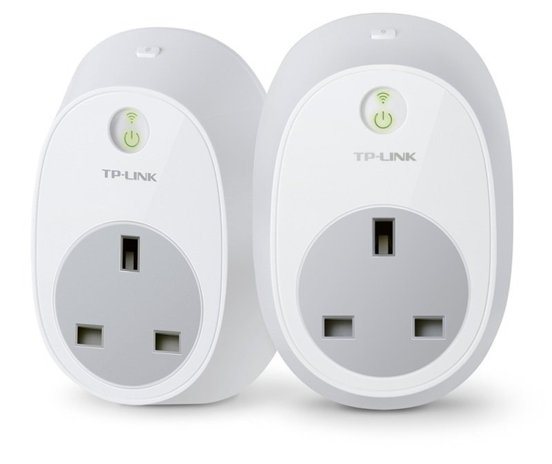 TP LINK HS100 Wi-Fi Smart Plug - Twin Pack V2.1 - Works with Alexa/Google Home