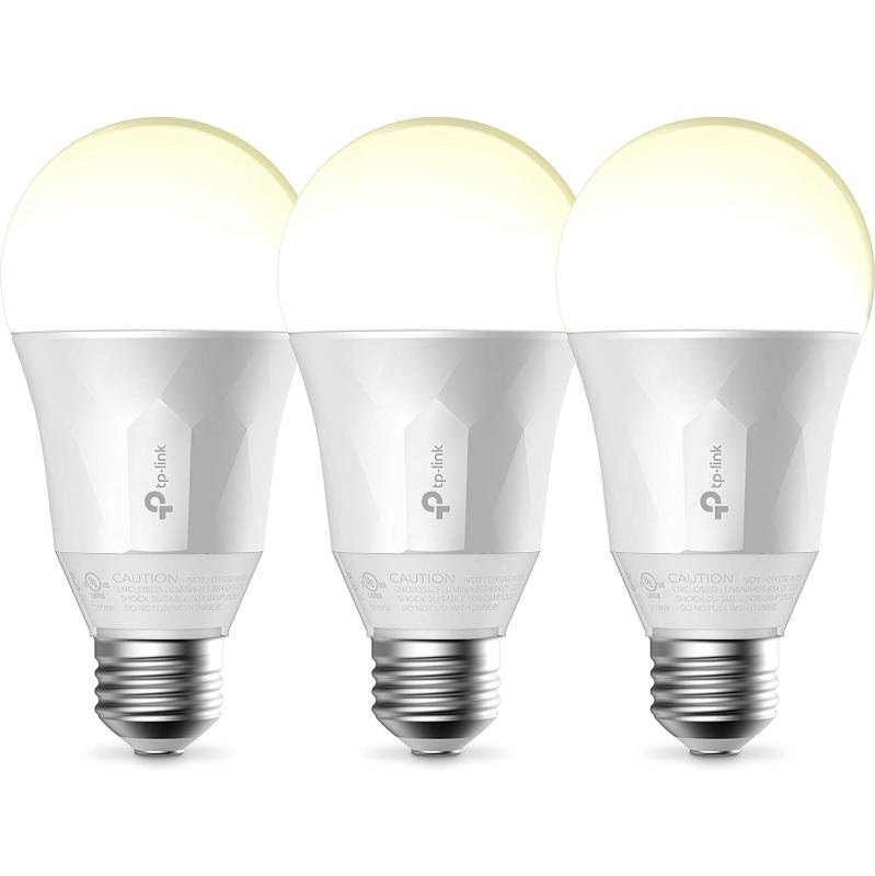 TP LINK LB110 Smart Wi-Fi LED Bulb with Dimmable Light 3 Pack