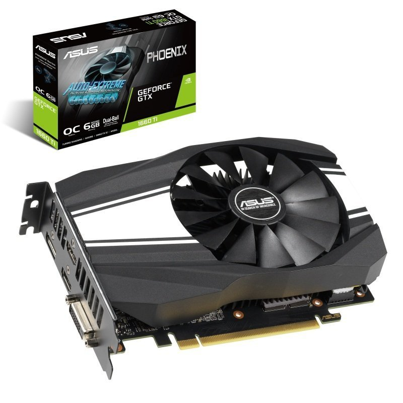 Asus GeForce GTX 1660 Ti PHOENIX 6GB OC Graphics Card