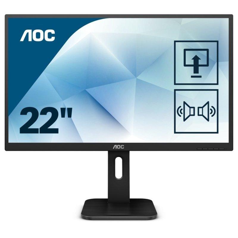 """AOC 22P1 21.5"""" VA LED Full HD Monitor"""