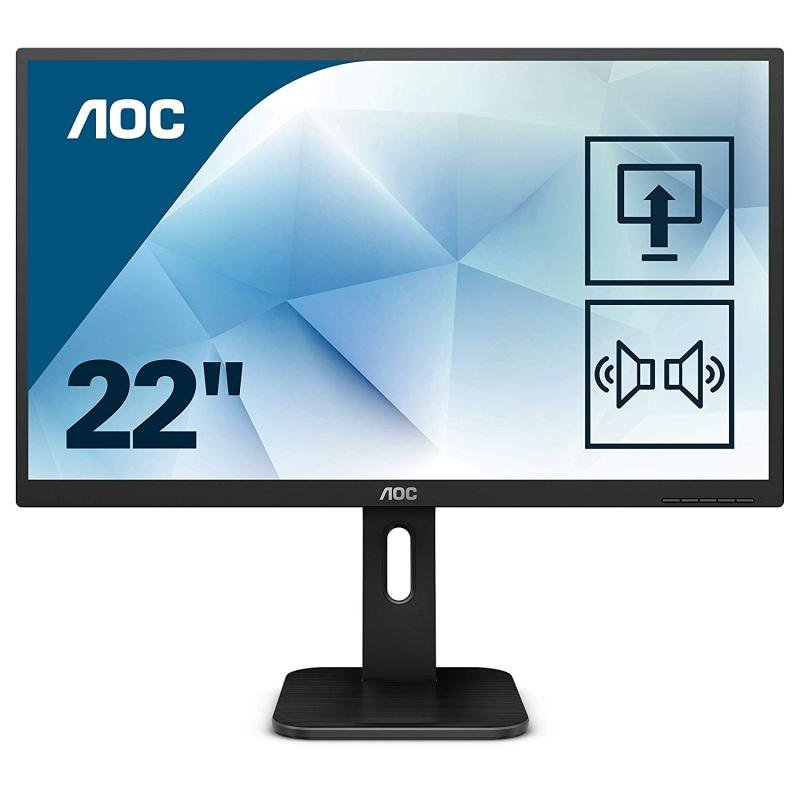 """AOC 22P1D 21.5"""" LED Full HD Monitor"""