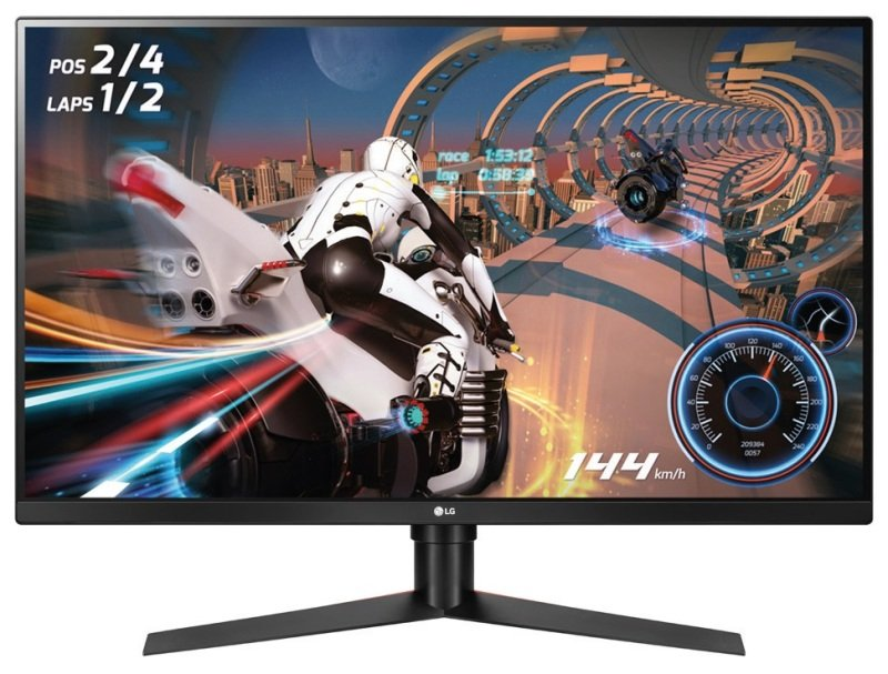 "LG 32GK850F-B 31.5"" QHD 144Hz 1ms Monitor"