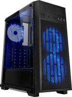 EG Coolmax Black & Mesh ATX Tower Case