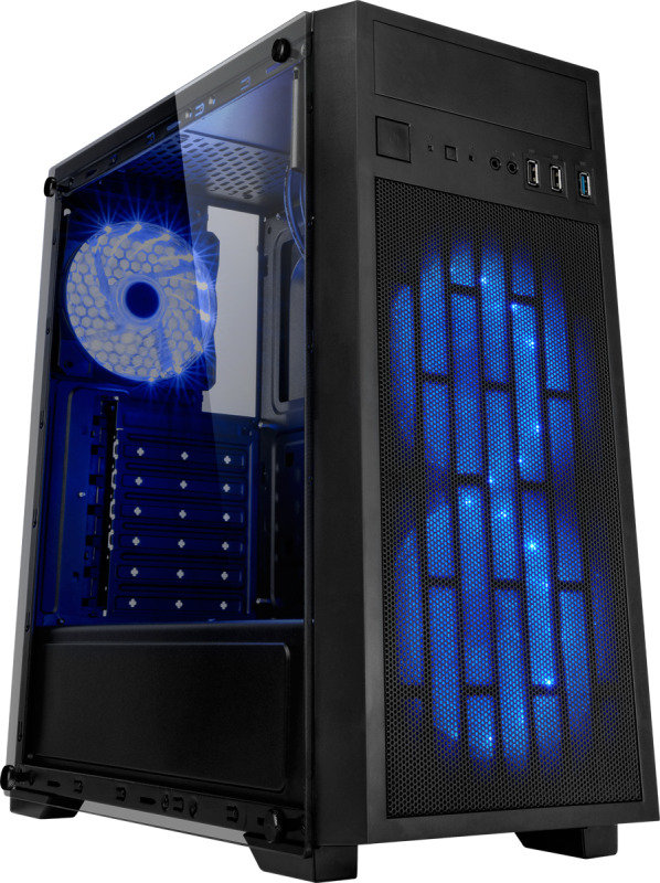 EG Coolmax Black & Mesh ATX Tower Case