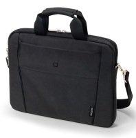 """Dicota 15-15.6"""" Black Laptop Slim Case"""
