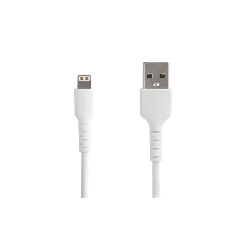 StarTech.com 2M USB To Lightning Cable White MFI Certified