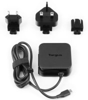 Targus Universal USB C Mains Charger Black