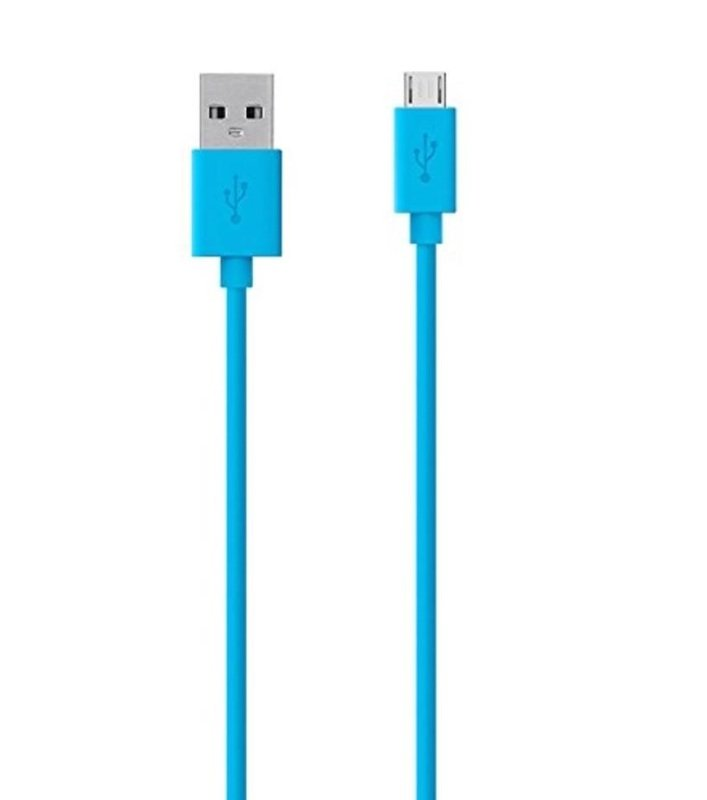 MIXIT UP MicroUSB to USB Cable 2M BLUE