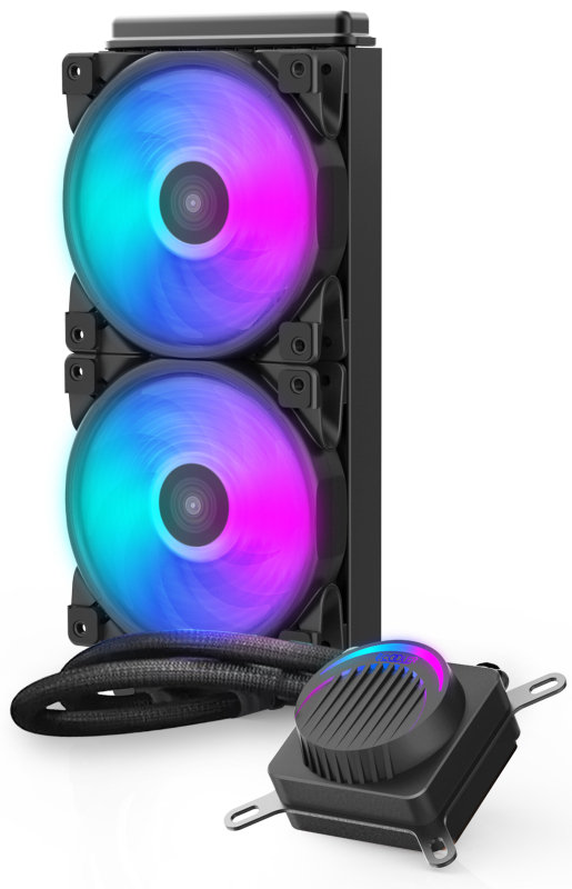 Image of EG 240P Halo 240MM Water Radiator with RGB Cooling Fans