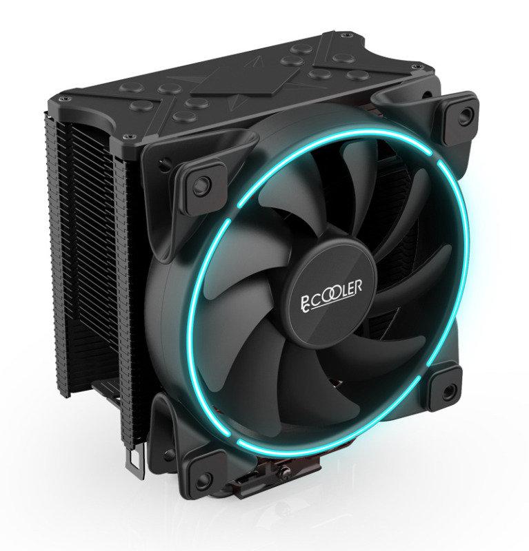 EG GI-X6B 160W CPU Cooler X6 with Blue Colour Ring Fan