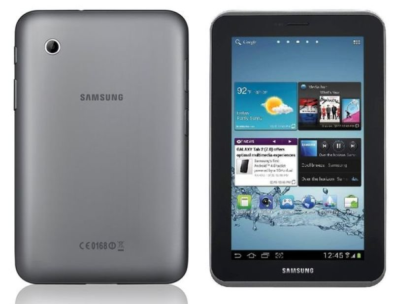 "Samsung Galaxy Tab 2 7.0 - Silver, Cpu Dc 1ghz, 8gb Flash, 1gb Ram,  7"" Touch, Bluetooth, Wifi, Silver"