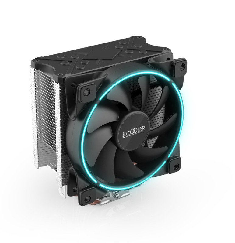 EG GI-X5B CPU Cooler X5 with Blue Colour Ring Fan