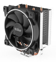 EG GI-X2 105W CPU Cooler X2 with White Colour Ring Fan