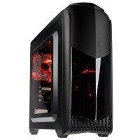 EXDISPLAY Punch Technology AMD Gaming PC AMD A10-9700 3.5 GHz 8GB DDR4 1TB HDD 120GB SSD No-DVD AMD R7 WIFI Windows 10 Home