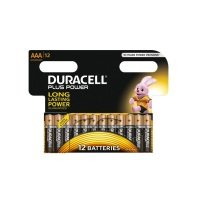 Duracell Aaa Plus Batteries Pk12