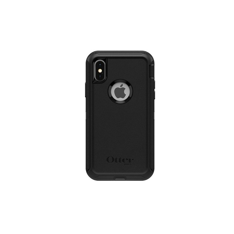 OtterBox Black Defender Case for iPhone X/XS