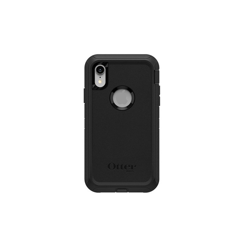 OtterBox Defender Series Black Case for iPhone XR