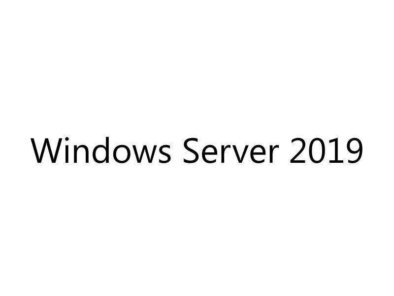 Windows Server Standard 2019 DSP OEM 4Cr POS Only