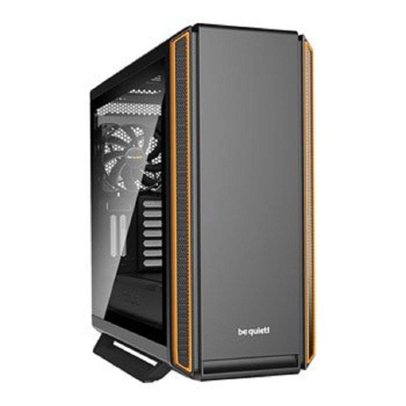 be quiet! SILENT BASE 801 Orange Windowed Midi PC Case