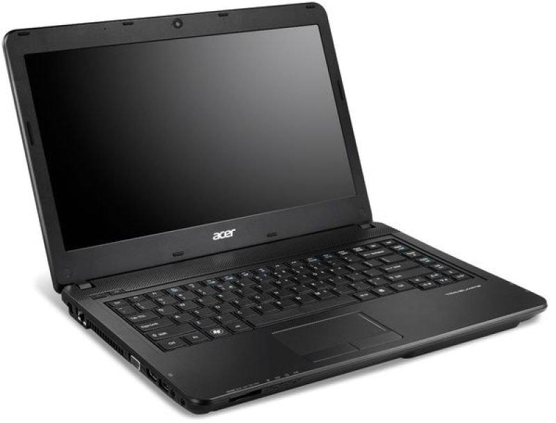 "Acer Travelmate P2 Laptop, Intel Celeron B815 1.6ghz, 320gb Hdd, 4gb Ram, 14.1"" Hd Led, Dvdrw, Intel Hd, Webcam, Bluetooth, Windows 7 Home Premium 64"