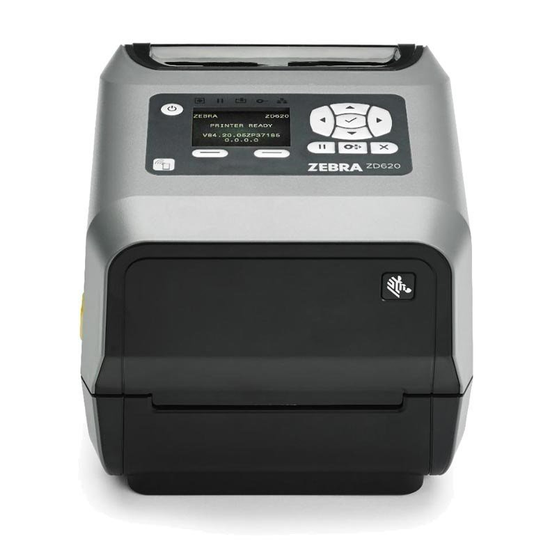 "Zebra ZD620 4"" TT/DT 300dpi Printer [UK/EU] / EPL/ZPL / USB/USB Host/Bluetooth Low Energy (BTLE)/RS232 Serial/10/100 Ethernet"