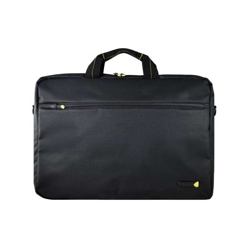 "Techair 17.3"" Black Laptop Shoulder Bag Black"