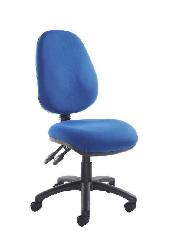 Vantage 100 Two Lever PCB Operator Chair - Blue