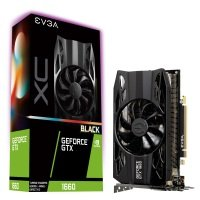 EVGA GeForce GTX 1660 XC BLACK 6GB GDDR5 Graphics Card