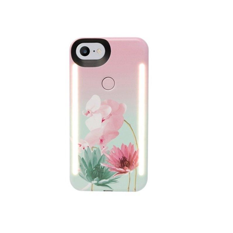 LuMee Duo LED Case for iPhone 7/8 Desert Flower
