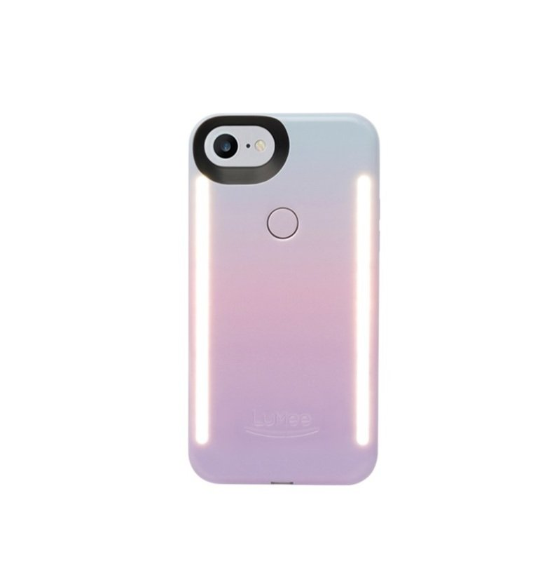 brand new 9e2d2 e0bb9 LuMee Duo LED Case for iPhone 7/8 Cascade