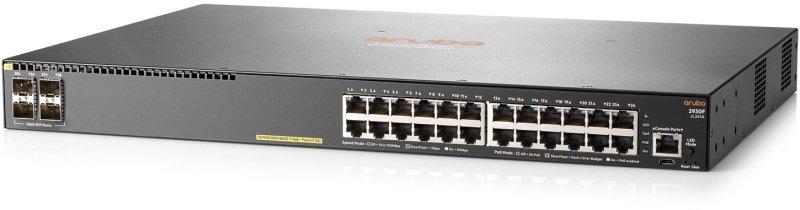 Aruba 2930F 24G PoE+ 4SFP 24 Ports Managed Switch