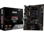 MSI A320M PRO-E AM4 DDR4 mATX Motherboard
