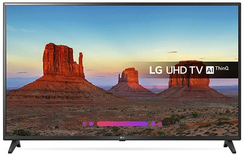 "LG 49UK6200PLA 49"" Ultra HD 4K TV"