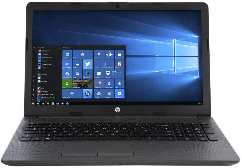 HP 250 G7 Laptop, Intel Core i5-8265U 1 6GHz, 8GB DDR4, 256GB SSD, 15 6