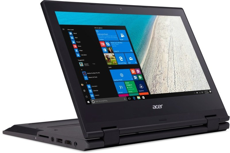 Acer TravelMate Spin B1 Convertible Laptop -...