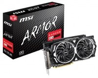 MSI Radeon RX 590 ARMOR 8GB OC Graphics Card