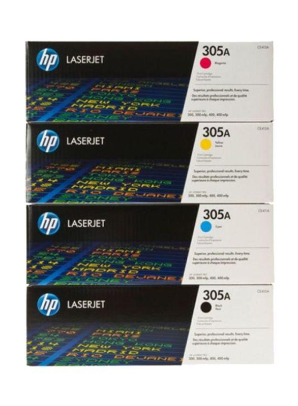 K/HP 305A Toner Rainbow Kit CMYK