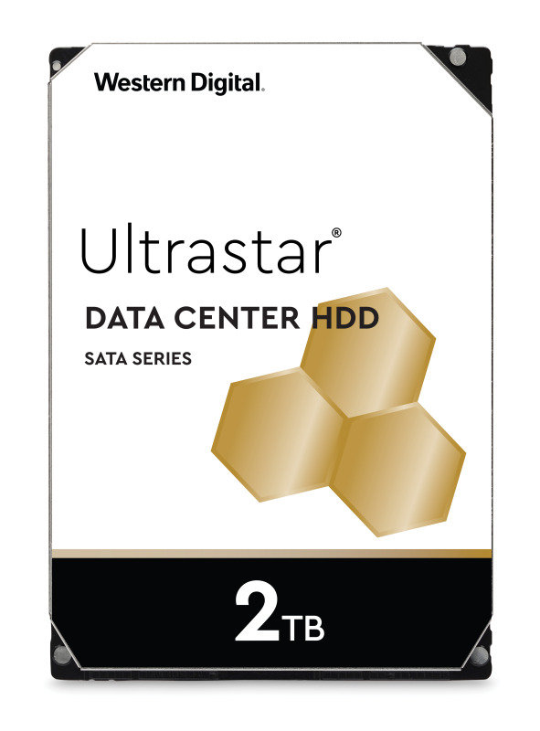 Western Digital 2TB Ultrastar DC HA210 SATA Enterprise HDD 7200 RPM