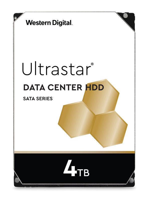 Western Digital 4TB Ultrastar DC HC310 SATA Enterprise HDD 7200 RPM