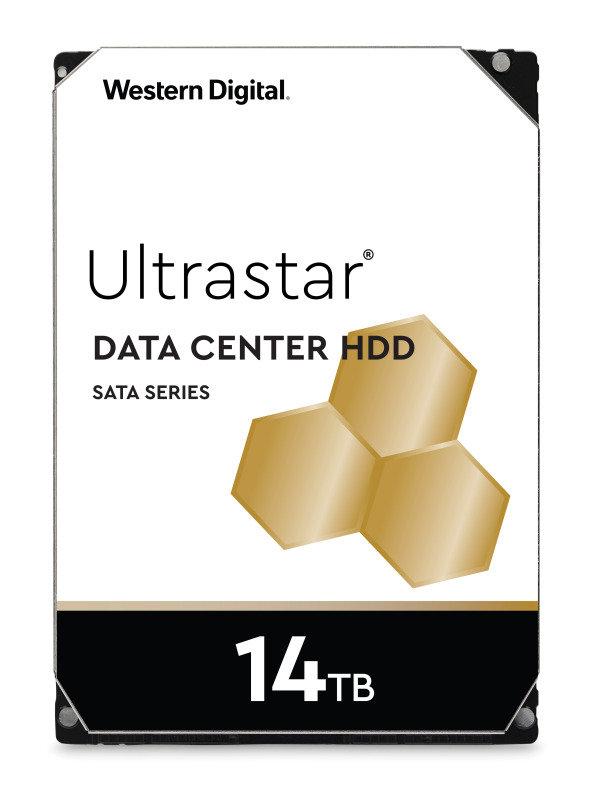 Western Digital 14TB Ultrastar DC HC530 SATA Enterprise HDD 7200 RPM