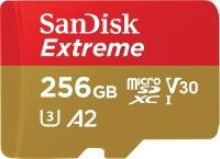 SanDisk Extreme 256GB microSDXC Memory Card + SD Adapter