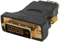 Xenta Gold Plated HDMI (F) To DVI-D (M) Adapter