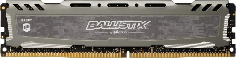 Ballistix Sport LT Gray 8GB DDR4-3000 UDIMM