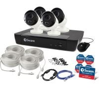 Swann NVR-8580 with 2TB HDD & 4 x 4K Thermal Sensing IP Security Cameras