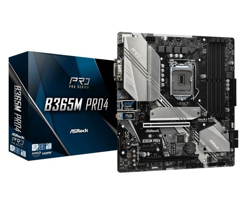 ASRock B365M Pro4 LGA 1151 DDR4 mATX Motherboard