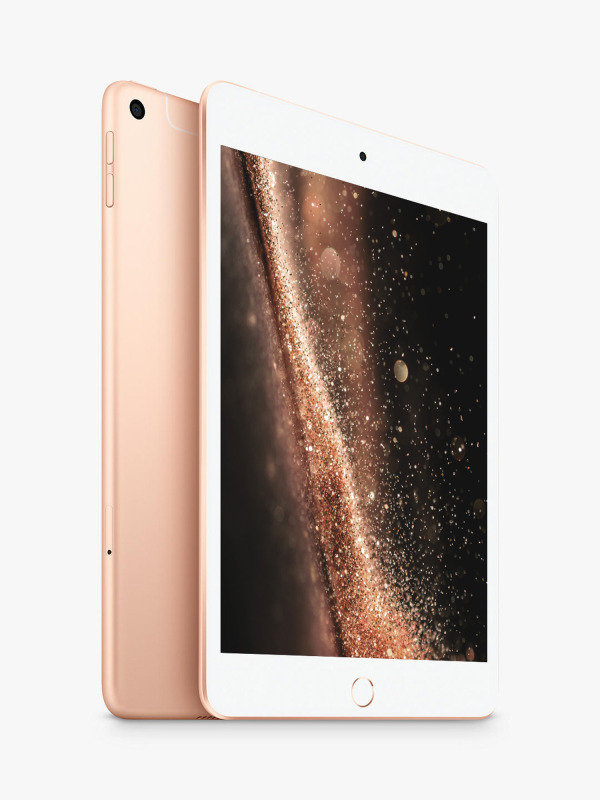 "Image of Apple iPad Mini (2019) 7.9"" 64GB WiFi + Cellular - Gold"
